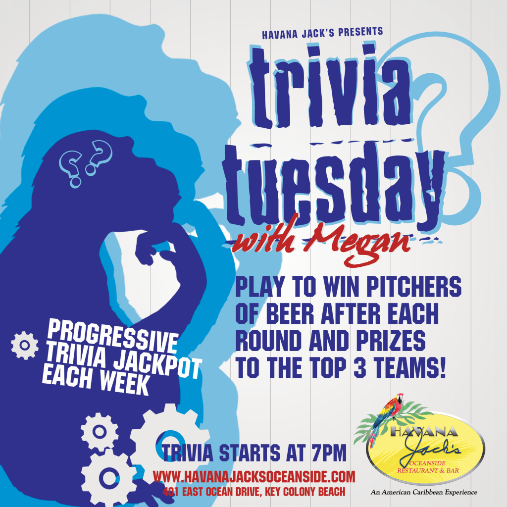 Trivia Tuesdays at Havana Jacks